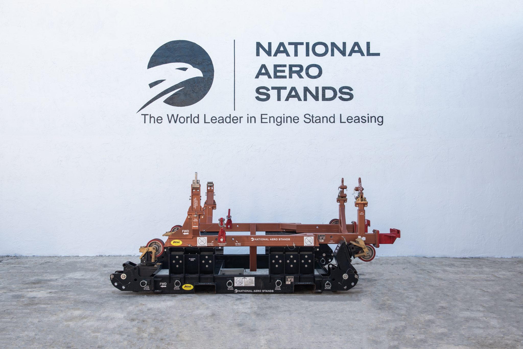 PW4000-JT9D AGSE engine stand