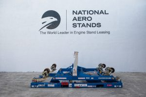 LEAP-1B engine stand
