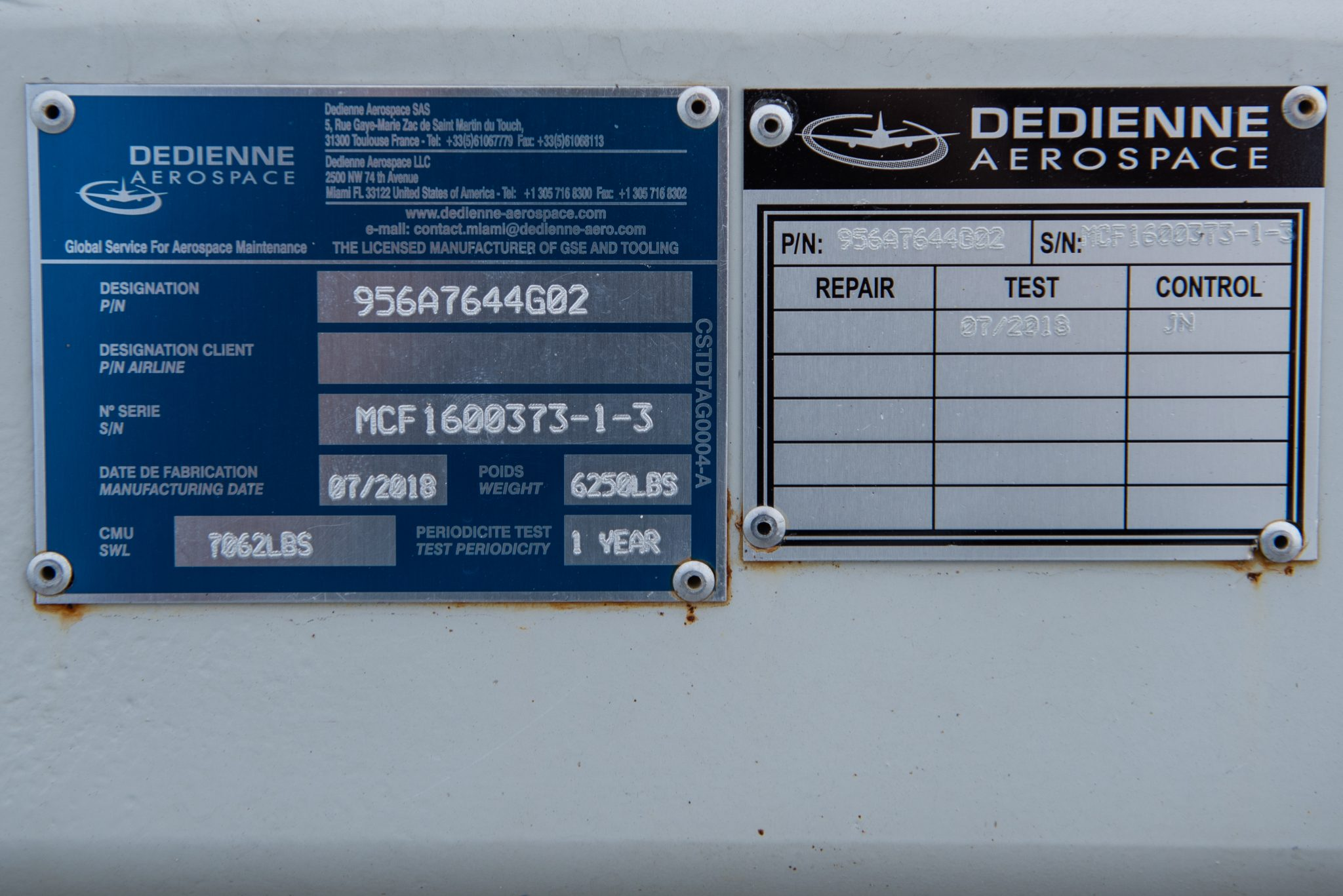 LEAP-1A serial number
